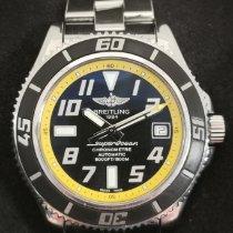 Breitling Superocean 42 Acero 42mm Negro Arábigos