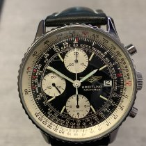 Breitling Old Navitimer Steel 41mm Black No numerals