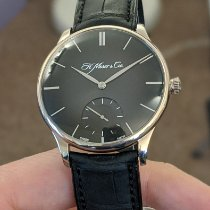 H.Moser & Cie. Or blanc 39mm Remontage manuel 2327-0201 occasion