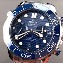 Omega Seamaster Diver 300 M 210.30.44.51.03.001 Omega Seamaster Diver Chrono 44mm Blu 2020 new