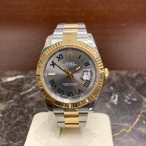 Rolex Datejust II Gold/Stahl 41mm Grau Römisch Deutschland, Köln