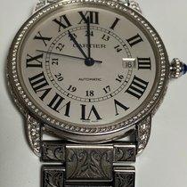 Cartier Ronde Solo de Cartier Platine 42mm Argent Romains France, porte saint cloud