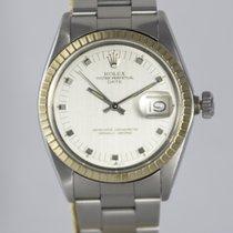 Rolex Oyster Perpetual Date Сталь 34mm Cеребро Без цифр
