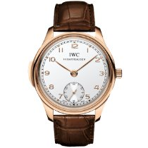IWC Portuguese Minute Repeater Or rose 44.2mm Argent Arabes