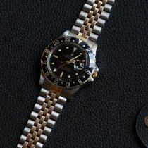 Rolex GMT-Master 16753 Ungetragen Gold/Stahl 40mm Automatik