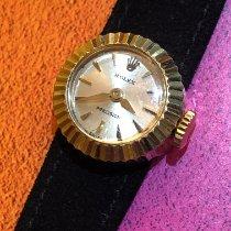 Rolex Oyster Precision Ouro amarelo 16mm Prata