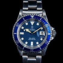 Tudor Submariner Steel 40mm Blue No numerals