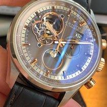 Zenith El Primero Chronomaster Staal 45mm Geen cijfers