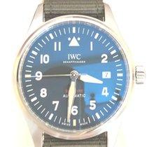 IWC Pilot Acél 39mm Fekete Arab