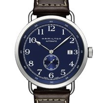 Hamilton Khaki Navy Pioneer new Automatic Watch with original box and original papers H78455543