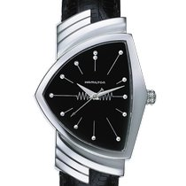 Hamilton Ventura Steel 32.3mm Black