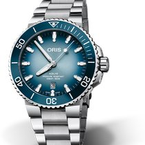 Oris Aquis Date new Automatic Watch with original box and original papers 01 733 7730 4175-Set