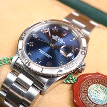 Rolex Datejust Turn-O-Graph Steel 36mm Blue Arabic numerals United Kingdom, Hertfordshire