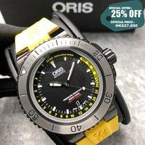 Oris Aquis Depth Gauge Zeljezo 46mm Crn