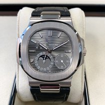 Patek Philippe Nautilus Steel 40mm Grey No numerals United States of America, Texas, Dallas