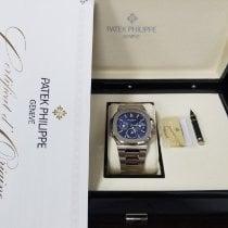 Patek Philippe Nautilus White gold 40mm Blue No numerals United States of America, New York, NY