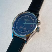 NOMOS Zürich Weltzeit Steel 39.9mm Blue United States of America, DC, Washington