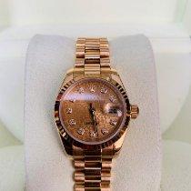 Rolex 179178 Or jaune Lady-Datejust 26mm occasion