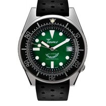 Squale 026 Squale 1521 Green Professional Limited Ocean Brushed 2020 新的