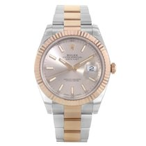 Rolex Datejust Steel 41mm Champagne United States of America, New York, NYC