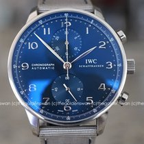 IWC Portuguese Chronograph Steel 40.9mm Blue Arabic numerals United States of America, Massachusetts, Milford