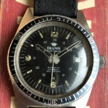 Delma Steel Manual winding Delma Diver pre-owned United States of America, New York, Forest Hills