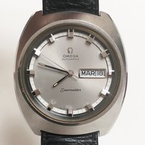 Omega Seamaster Staal 39mm Grijs