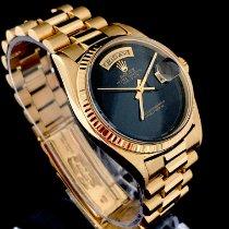 Rolex Day-Date 36 tweedehands 36mm Goud Datum Geelgoud