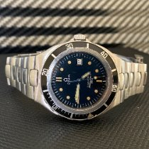 Omega 396.1061 Steel 1993 Seamaster 40mm pre-owned