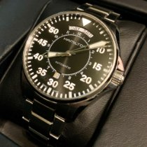 Hamilton Khaki Pilot Day Date Steel 42mm Black Arabic numerals United States of America, Washington, Woodinville