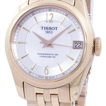 Tissot Ballade Powermatic 80 COSC Gold/Steel 32mm Mother of pearl Singapore, Singapore