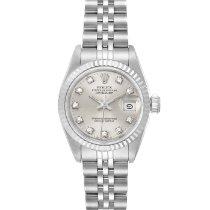 Rolex Lady-Datejust Acier 26mm Argent