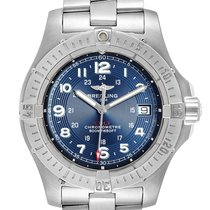 Breitling Colt Quartz Steel 41.1mm Blue Arabic numerals United States of America, Georgia, Atlanta