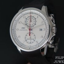 IWC Portuguese Yacht Club Chronograph Staal 45.4mm Wit Nederland, Maastricht