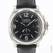 Panerai Luminor Power Reserve Otel 44mm Negru Arabic