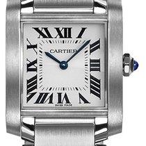 Cartier Tank Française new Quartz Watch with original box WSTA0005