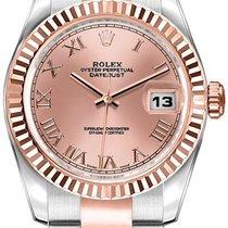 Rolex Lady-Datejust Acero 26mm Rosa Romanos