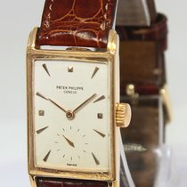Patek Philippe Oro rosa Cuerda manual Blanco 22mm usados Vintage