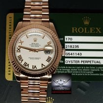 Rolex 218235 Oro rosa 2012 Day-Date II 41mm usados