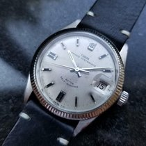 Tudor Steel 34mm Automatic Prince Oysterdate pre-owned