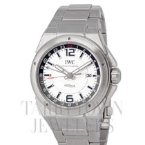 IWC Ingenieur Dual Time Steel 43mm Silver Arabic numerals United States of America, New York, Hartsdale