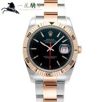 Rolex Datejust Turn-O-Graph Steel 36mm Black