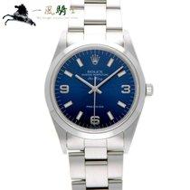 Rolex Air King Precision Stahl 34mm Blau