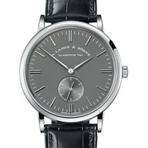 A. Lange & Söhne Saxonia White gold 37mm Grey