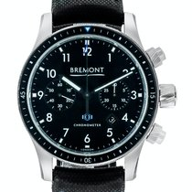 Bremont Boeing new Automatic Chronograph Watch with original box and original papers 247-BK-SS