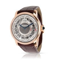 Cartier Rotonde de Cartier Rose gold 45mm Silver Roman numerals United States of America, New York, New York