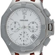 Concord Saratoga Steel 41mm Silver No numerals United States of America, Texas, Dallas