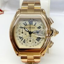 Cartier Roadster Yellow gold Silver Roman numerals United Kingdom, Wilmslow
