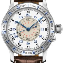 Longines Lindbergh Hour Angle L2.678.4.11.0 new
