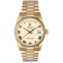 Rolex Day-Date 36 Yellow gold 36mm Champagne Roman numerals United States of America, Texas, Dallas